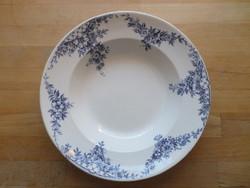 Antik Bonn fajansz tányér mélytányér 24 cm
