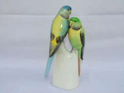 Hollóházi papagájok