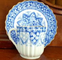 Antik Copeland fajansz teás csésze csészealjjal 1875-90