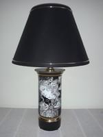 Szász Endre hollóházi porcelán lámpa (Adria)