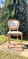 Neobarokk szék, 2db, új kárpittal