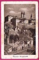 C - - - 085  Magyar tájak-városok: Veszprém - utca részlet