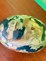 Antik kézi készítésű japán jelzett bonbonier