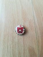 Szocialista brigád ezüst kokozat jelvény - kicsi