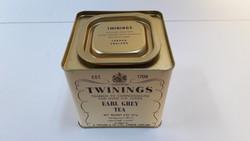 Earl Grey fém teás doboz