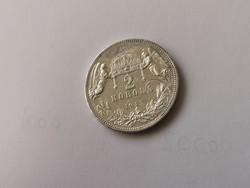 1912 Ferenc József ezüst 2 korona,keresett érme