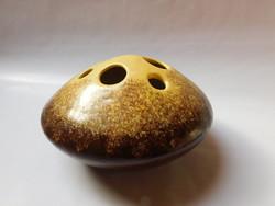 Bodrogkeresztúri retro kerámia ikebana váza