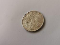 1913 Ferenc József osztrák ezüst 2 korona,keresett érme