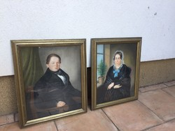 Biedermeier portré párkép!
