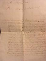 Mesterházy/1775 okt 15/ Zálogfelodáshoz való jogosultság.... Mesterházy nevű kapitány aláírásával
