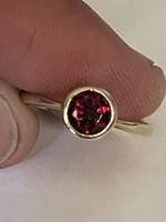 Gyönyörű letisztult 14 kr régi aranygyűrű eladó!Ara:33000.-