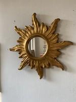 Naptükör tükör, ovális tükör, kör alakú tükör, régi