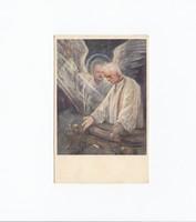 Vallási képeslap 1937