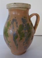 Antique, glazed folk bastard, silk