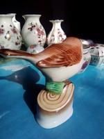 Herendi porcelán nipp madár