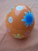 Retro nagyméretű húsvéti dísztojás bonbonier