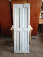 Vintage fenyő spaletta régi fa belső árnyékoló 1db 164 cm