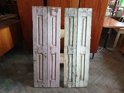 Vintage fenyő spaletta régi fa belső árnyékoló 128 cm