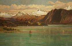Robert Tucker Pain (1840-1942) : Luzerni tó (1887)
