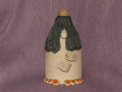 Kerámia figura,manó, butykos, váza