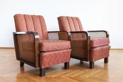 Nagy Károly Art Deco Fotel Párban