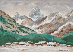 Az Alpok ölelésében