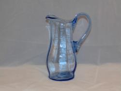 Kék üveg kancsó