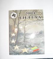2004, LITVÁNIA, PRÓBAEURÓ FORGALMI SOR DÍSZTOKBAN