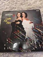 Baccara :Light My Fire bakelit lemez