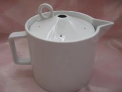 Art deco Gilitzer tejes kancsó speciális tetővel