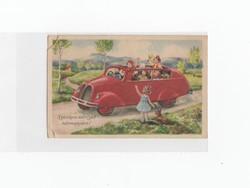 Névnapi képeslap postatiszta