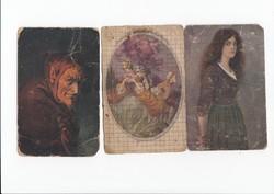 Üdvözlő képeslap 3db