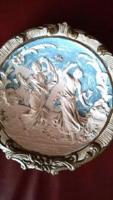 Antik kerámia falitányér