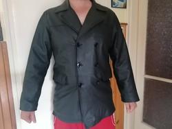 Eladó a képen látható férfi bőr kabát.  Beleirt méret M