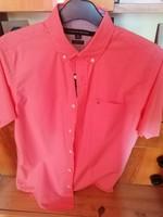Tommy Hilfiger férfi  rózsaszín ing S - méretben lemérve eladó !