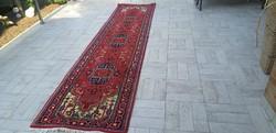 Álomszép 80x340 kézi gyapjú perzsa futó szőnyeg 45P_09 ingyen posta