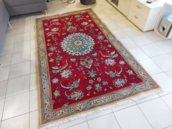 Antik iráni nain 125x227 kézi gyapjú perzsa szőnyeg MM_710 ingyen futárral