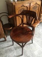 Thonet, thonett, tonet karfás Íróasztal szék