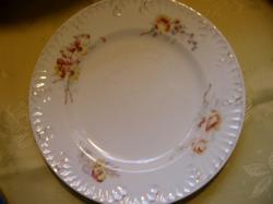 Antik árvácskás tányér