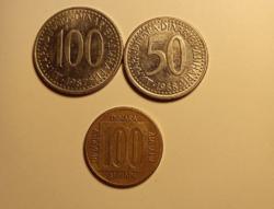 Egykori Jugoszlávia érmepénzei