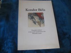 Kondor Béla Album   1980 . szép állapot