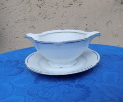 Drasche porcelán mártásos szószos tál (6p)