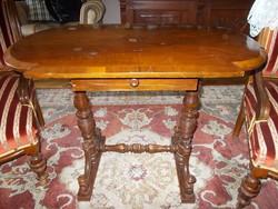 Ónémet asztal,szalonasztal