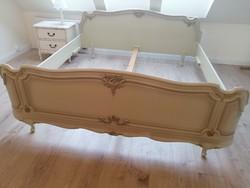 Gyönyörű, hibátlan Warrings ágykeret 200x200 cm