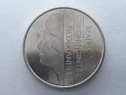 Hollandia 2,5 Gulden 1982 - Holland Beatrix 2 és 1/2 gulden 1982 külföldi pénz, érme