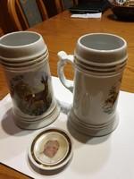 Hollóházi söröskorsó és II. János Pál pápa!