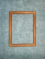 Régi fa képkeret 16,5*21,5 cm (n-12)