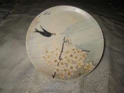 Schütz Cilli  , fali tálka  , kézi festésű ,14 cm , peremén piciny javítás , Ritka  !