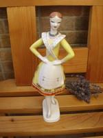 Hollóházi Bajáki táncos Lány