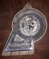 Retro bronz hamutál 1960